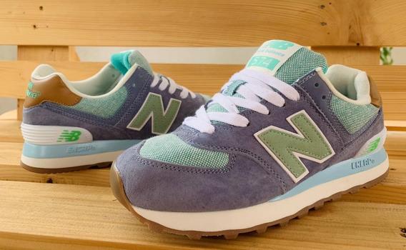 Zapatillas Tenis New Balance 574 Mujer Original