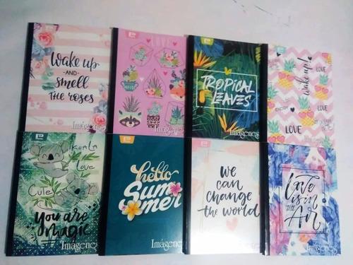 Cuadernos Imagenes Cosidos X 100 Hojas X 4 Unid Escolar