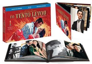 E O Vento Levou - Box Com 2 Blu-rays - Digibook - Novo