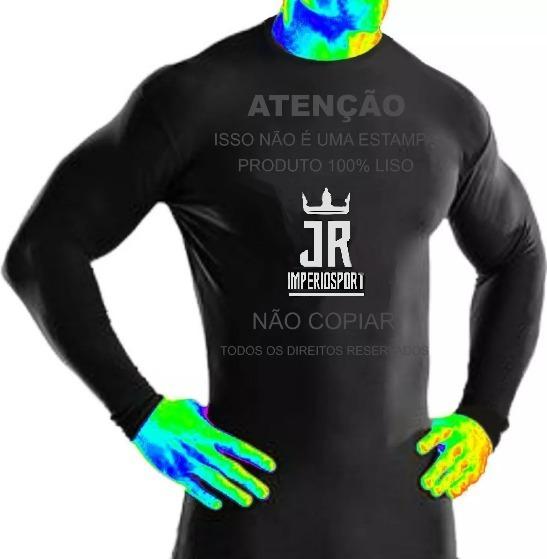 Kit 30 Camisas Manga Longa Proteção Solar Uv 50% Térmica