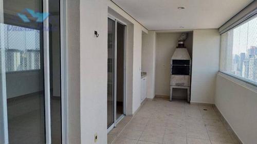 Imagem 1 de 30 de Apartamento Para Alugar, 124 M² Por R$ 6.500,00/mês - Brooklin - São Paulo/sp - Ap1634