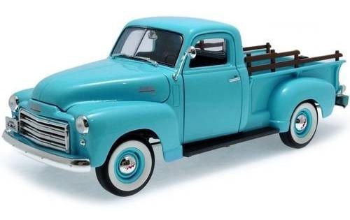 1950 Gmc Pickup Azul - Escala 1:18 - Yat Ming
