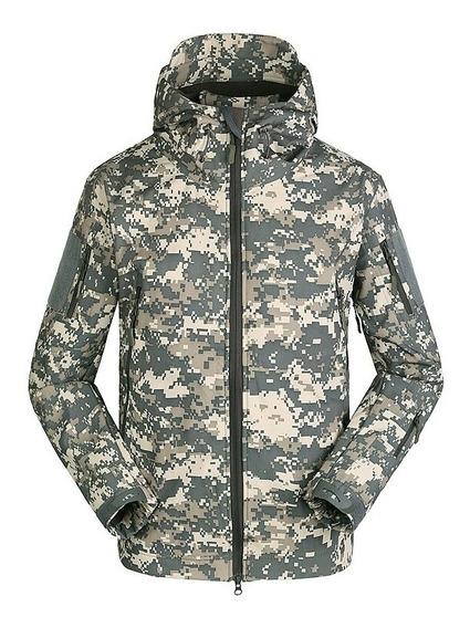 Chamarra Táctica Militar Camuflaje Acu Outdoor Esdy Original