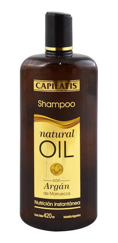 Shampoo Capilatis  420 Argan De Mar