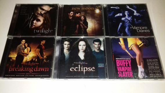 Lote 6 Trilhas Sonoras Originais De Filmes De Vampiros