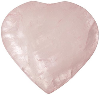 The Chrysalis Stone Rose Quartz Puff Heart Pre