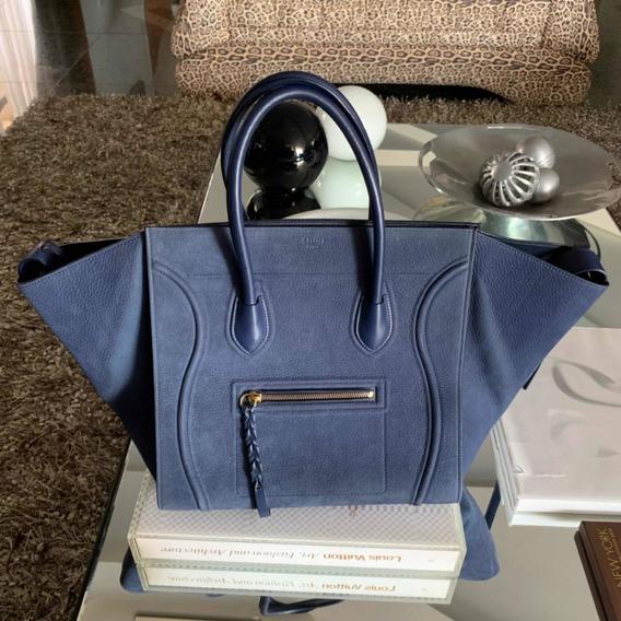 Bolsa Celine Phantom Azul Original
