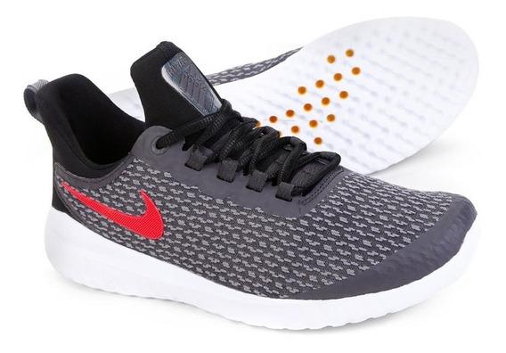 Tênis Nike Renew Rival Cinza Chumbo Corrida Academia Novo