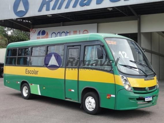 Micro Ônibus Rodoviario Escolar Vw 8.160 31 Lug. Ano 12/13