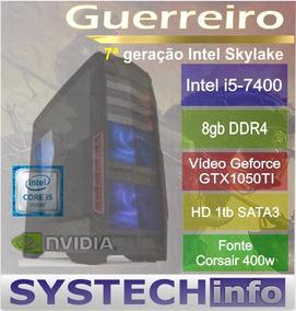 Computador Intel Core I5 7400 8gb Gtx1050ti 7ª Geração