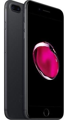 iPhone 7 Plus 128gb Preto Matte Tela 5.5  Ios 10 4g