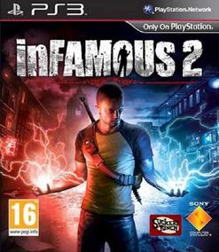 Infamous 2 Dublado Portugues Brasil Ps3 Psn Play 3