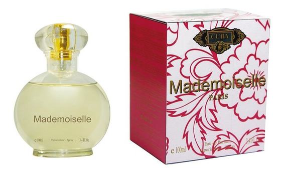 Cuba Mademoiselle Edp Feminino Perfume 100ml Original