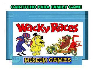 Los Autos Locos Wacky Races Cartucho Family - Local - Mg