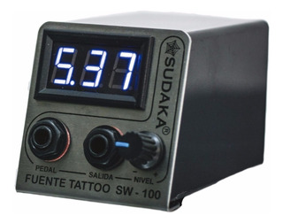 Fuente Tattoo Profesional 4 Amperes Digital Tatuajes Tatuar
