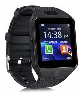 Relógio De Pulso Smartwatch Dz09 Bluetooth Câmera Chip Sim