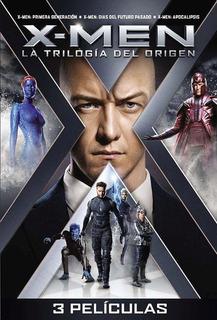 Dvd - Pack X-men: La Trilogia Del Origen