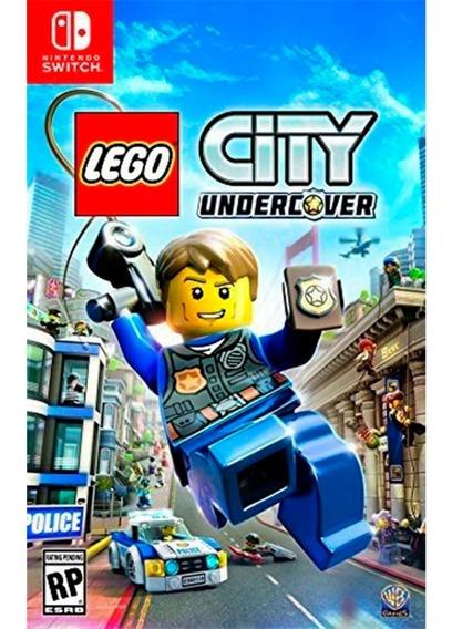 Jogo Lego City Undercover Midia Fisica Nintendo Switch