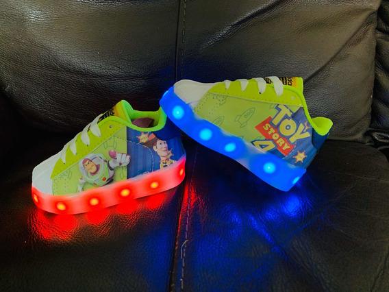 adidas Super Star Led De Toy Story Para Bebes Y Niños