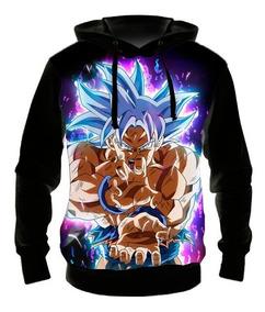 Blusa Moletom Goku Ultra Instinto Dominado 05 Casaco De Frio