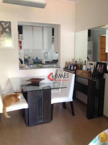 Apartamento Com 3 Dormitórios À Venda, 78 M² Por R$ 425.000,00 - Vila Dusi - São Bernardo Do Campo/sp - Ap2637