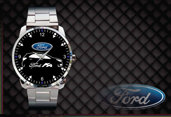 Relógio De Pulso Personalizado Logo Novo Ford Ka 2018