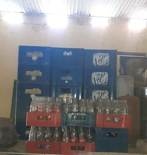 Vacios De Cerveza Y Malta,vacios De Refrescos Pepsi Y Cocala