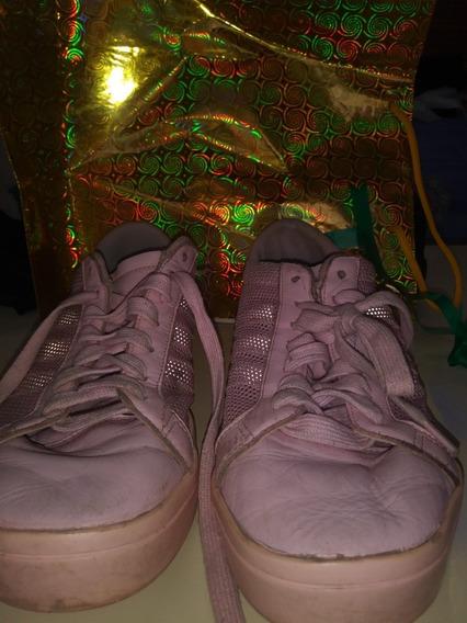 Zapatillas adidas Usadas Rosas T 40