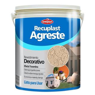 Recuplast Agreste Revestimiento Blanco 6kg Pinxel