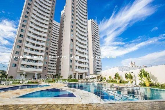 Apartamento Para Venda Em Natal, Candelária - Natture Condomínio Club, 2 Dormitórios, 1 Suíte, 2 Banheiros, 1 Vaga - Ap1103-natture