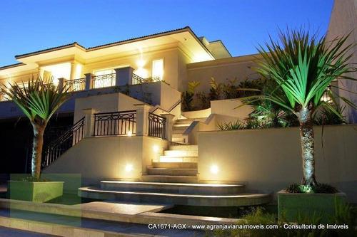 Imagem 1 de 30 de Casa Com 5 Dormitórios À Venda, 1342 M² Por R$ 5.750.000,00 - Granja Viana - Cotia/sp - Ca1671