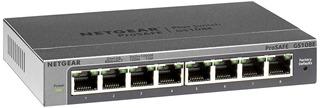 Netgear Gs108ev3 8 Puertos Gigabit Smart Managed Plus Swi