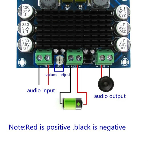 Placa Amplificador Mono 100 W