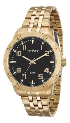 Relógio Masculino Mondaine Original Aço Inox 99190gpmvde2