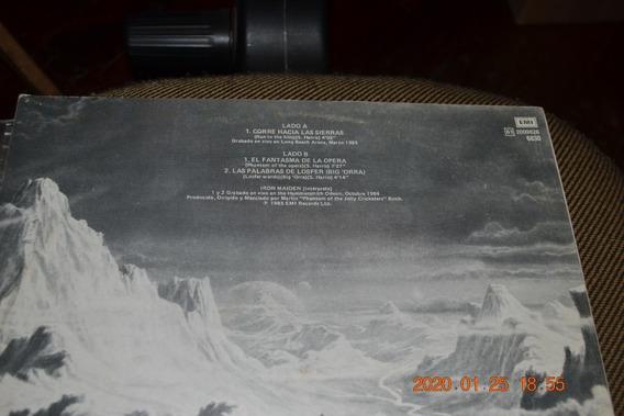 Disco Vinilo Iron Maiden Varios Titulos