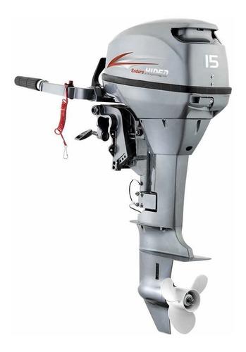 Imagem 1 de 3 de Motor De Popa Hidea 15 Hp 2t