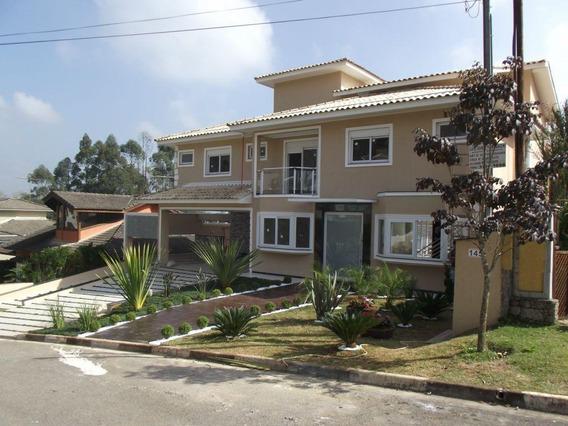 Granja Viana - Imóvel Com 4 Dormitórios Pq Das Artes Granja Viana - Ca7940