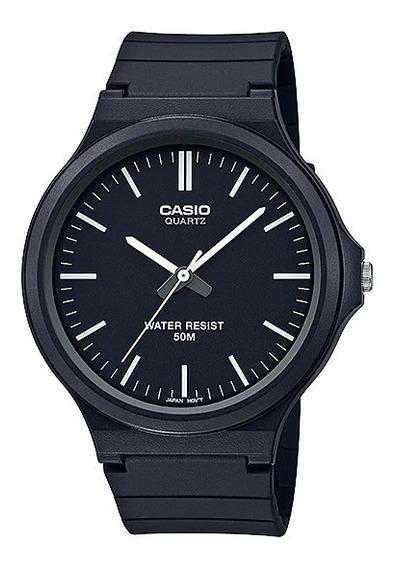 Relógio Casio Masculino Standard Mw-240-1e2vdf Original + Nf