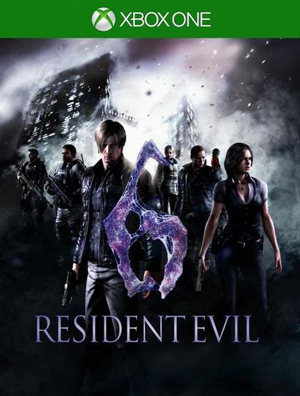 Resident Evil 6 Xbox One Original - 25 Dígitos (envio Já)
