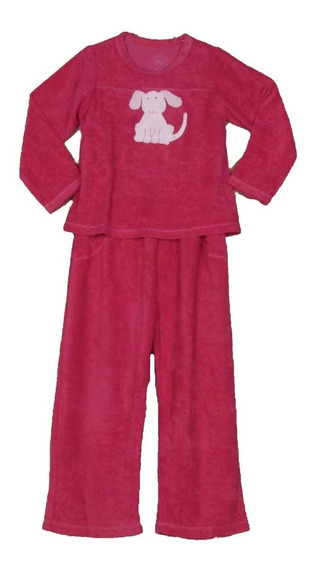 Pijama Infantil Atoalhado Plush Cachorro