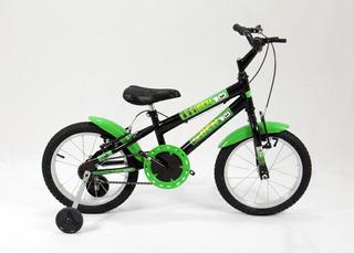 Bicicleta Infantil Aro16 Modelo Mtb Masculina + Brinde