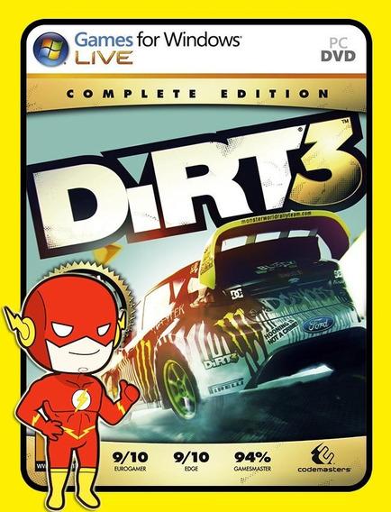 Dirt 3 - Steam Key (envio Flash)