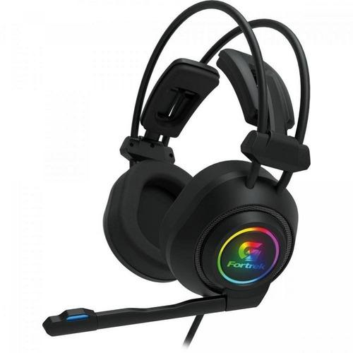 Headset Gamer Led Rgb Vickers Preto Fortrek Ps4 Xbox One