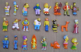 Simpsons Chocolatin Jack Año 2007 Por Unidad Impecables
