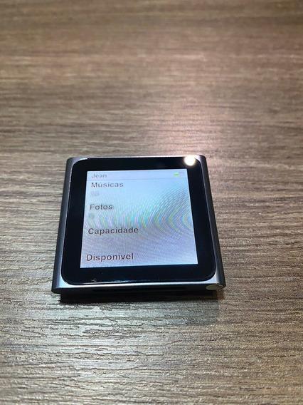 iPod Nano 8gb Impecável Com Pulseira Relógio.