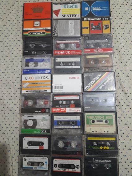 Cassettes Audio Tdk Sony Fuji Aiwa Varios