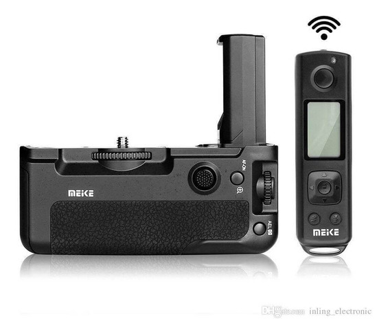 Baterry Grip Meike Mk-a9 Pro C Controle Sony A9 A7iii A7riii