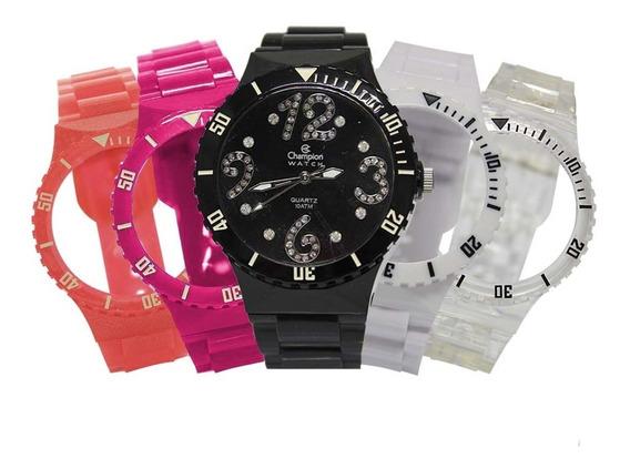 Relógio Feminino Champion Troca Pulseira Cp30182d/84768