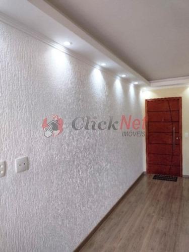 Apartamento À Venda No Bairro Independência Em São Bernardo Com 2 Dormitórios - 6955