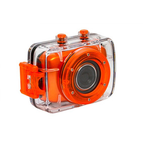 Câmera De Ação Hd Dvr783 Vivitar + Suporte P/ Capacete